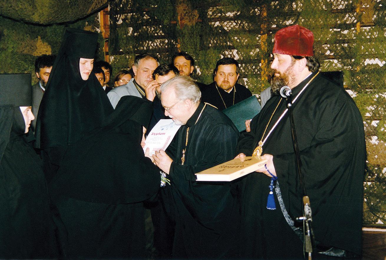 Chór Monasteru Żeńskiego w Równem na Ukrainie pod dyrekcją Ihumenii Michali (Zając) zwyciężył w kategorii wykonawców zagranicznych