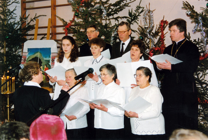 Chór Parafii Prawosławnej pw. św. Anny w Międzylesiu, dyrygent - Maria Ustymowicz