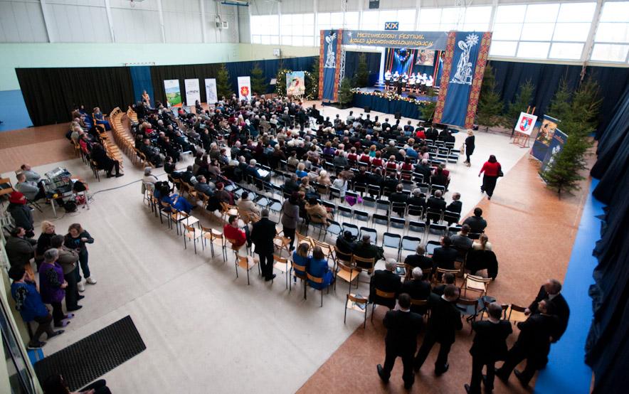 Sala MOK w Terespolu w całej okazałości na XIX MFKW