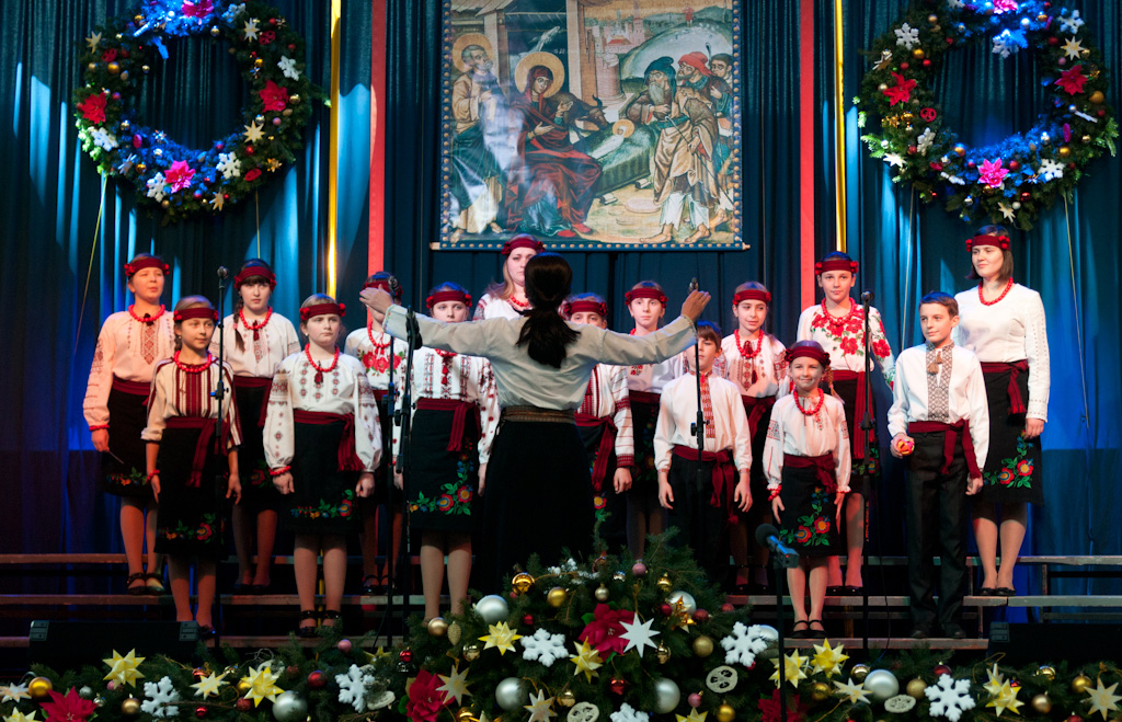 "Choir ""Kanon"" of S.Turczak Children's School of Arts from Dubliany, Ukraine"