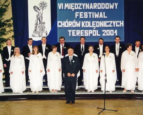 Chór Parafii Prawosławnej pw. Jana Chrzciciela z Hajnówki