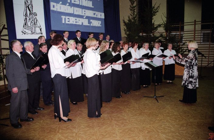 VII Międzynarodowy Festiwal Chórów Kolędniczych – Terespol 2002