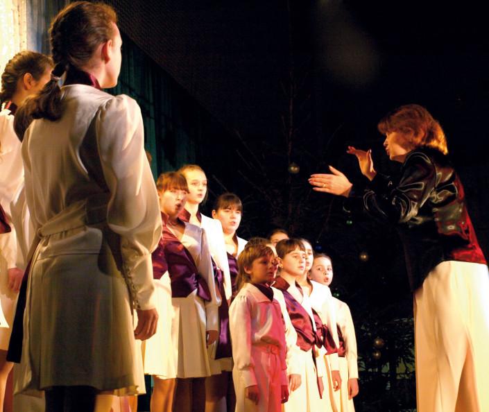 """Młodzieżowy chór """"Solo Muzyka"""" z Odessy na Ukrainie"""
