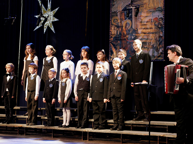 Vocal Band of The Non-Public Primary School of Sts. . Cyril and Methodius Bialystok