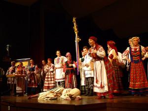 """Zespół Folklorystyczny """"Gamanina"""" Państwowego Uniwersytetu Informatyki i Radioelektroniki – Mińsk"""