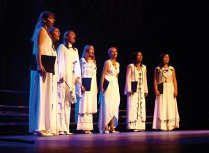 "Vocal Band ""Nowaja Ziemla"" of the State University of A. Puszkin - Brzesc (Belarus), conductor - Larysa Borsuk"