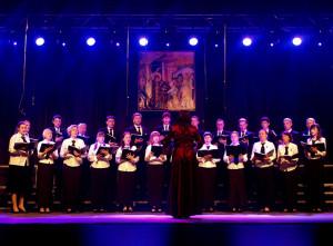 Chór Soboru p. w. Zmartwychwstania Pańskiego - Brześć (Białoruś), dyrygent - Lija Krac