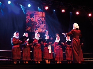 Chór Parafii Prawosławnej Twierdzy Brzeskiej - Brześć (Białoruś), dyrygent - Tatiana Radczuk