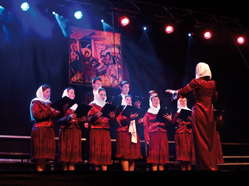 Choir of the Orthodox parish of Brzesc Fortress - Brest (Belarus), conductor - Tatiana Radczuk