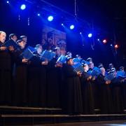Choir of the Kiev Theologian Schools of Kievo-Pecherskaya Lavra - Kiev (Ukraine), conductor - ihumen Roman