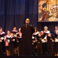Chór Parafii Prawosławnej p. w. Opieki Matki Bożej - Kobylany, dyrygent - ks. Mariusz Ostaszewicz