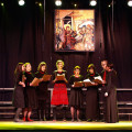 """Chamber Choir """"Weczornycia"""" of the Institute of Ethnology and Cultural Anthropology of the University of Lodz - Lodz, conductor - Natalia Iwaniuk"""