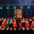 """Chór """"La Musica"""" Gimnazjum im. F. Chopina - Lublin, dyrygent - Zdzisław Ohar"""
