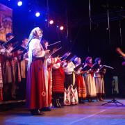 "The choir of Orthodox Parish of All Volhynian Saints ""Volhynian Bells"" - Lutsk (Ukraine), conductor - Marija Fiedosiuk"