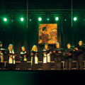 """Chór """"Schola Cantorum Adam Rener"""" Kościoła Ewangelickiego Niemiec Środkowych (Niemcy), dyrygent - Sarah Herzer"""