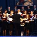 The choir of Orthodox Parish of . St. Apostle John the Theologian - Terespol, conductor - Miroslaw Korowaj