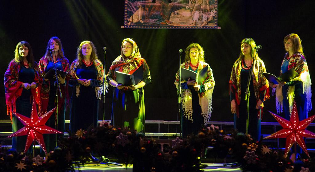 """Vocal Band """"Oksamit"""" of the Orthodox Parish of St. Mary Magdalene - Lutsk (Ukraine)"""