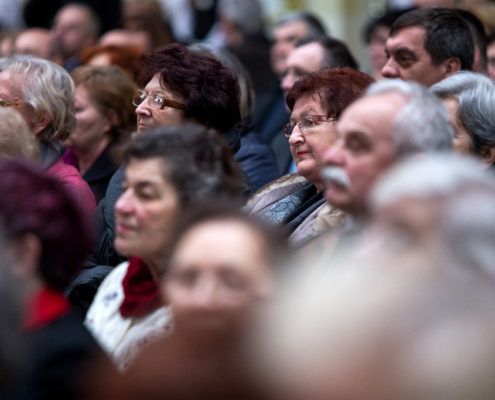 Audience of the 22nd International Festival of East Slavic Carols - 2017