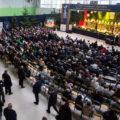 Sala MOK w Terespolu, gdzie odbywał się XXII MFKW - 2017