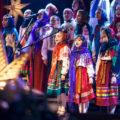 """Zespół Folklorystyczny """"Zorianycja"""" Szkoły Muzycznej im. Fryderyka Chopina, Łuck (Ukraina)"""