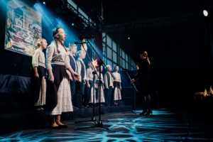 "Vocal Ensemble ""RECHA"" of the Orthodox Cathedral of St. Michael of Mozyrz (Belarus)"