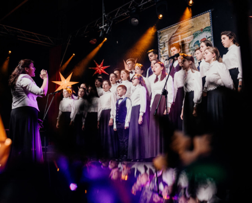 "Choir ""SOFIJA"" of the Palace of Children and Young People Creativity from Wsiewolozska (Russia)"